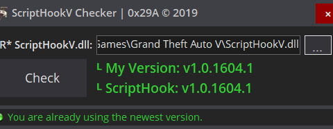 ScriptHookV Checker 1.1