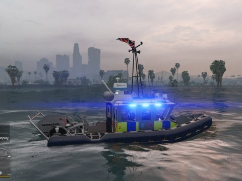 UK Police Boat 1.1 full update 0.1