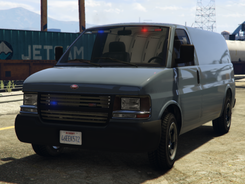 Unmarked SWAT Speedo Van 1.0