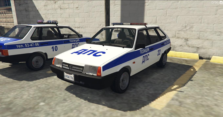 VAZ-2109-21099 LADA POLICE