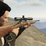 Winchester Model 70 hunting rifle