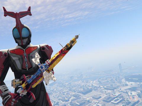Kamen Rider Hyper Kabuto's Perfect Zecter (Sword)