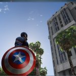 Marvel Captain America Shield 4k 2.2