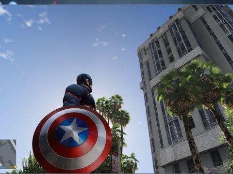 Marvel Captain America Shield 4k 2.2