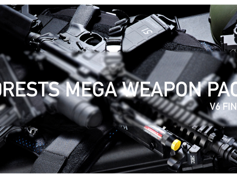 f0rest's Mega Weapon Pack V6