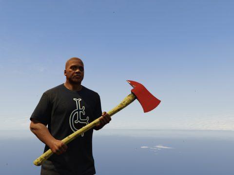 Left4Dead 2 fire axe and baseball bat