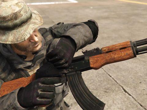 Modern Warfare Remastered AK-47 [2K I HP I Full Animated]