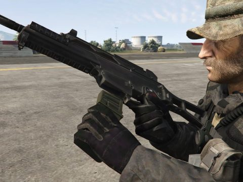 Modern Warfare Remastered HK G36C [2K I HP I Full Animated]