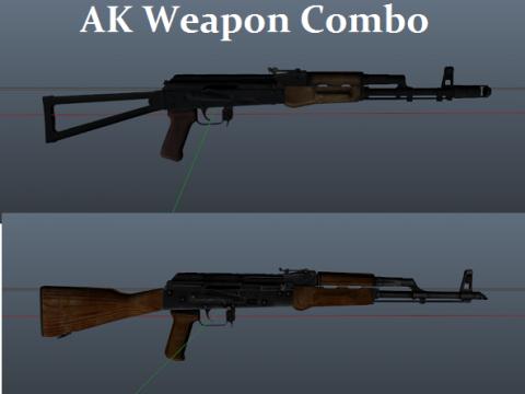 AK47+74 Combo Mod