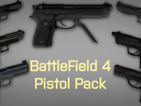 Battlefield 4 Pistol Pack 2.0