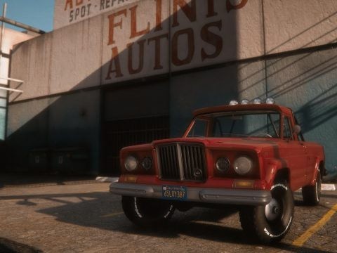 1965 Jeep Gladiator J-200 [Add-On | Replace | Extras | Tuning | LODS] 1.4B