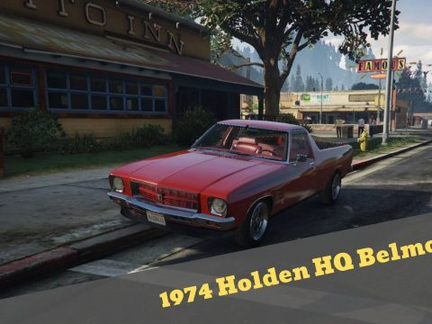1974 Holden HQ Belmont 1.0