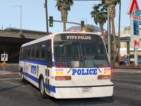 1996 TMC-RTS NYPD Highway Patrol Bus (ELS) 1.00.b
