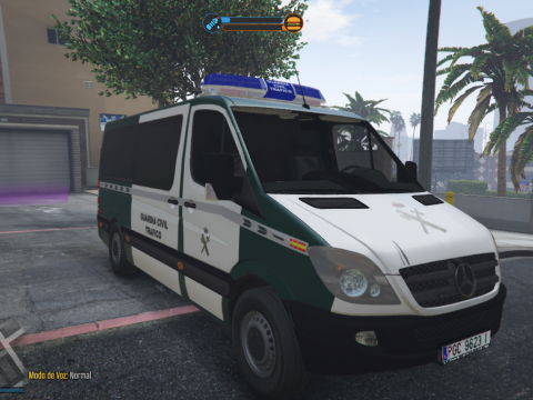 2006 Mercedes Sprinter 211 CDI Guardia Civil Trafico Spanish Traffic Police [ELS-Replace] 1.0
