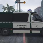2006 Mercedes Sprinter 211 CDI Guardia Civil Trafico Spanish Traffic Police [ELS-Replace] 1.0