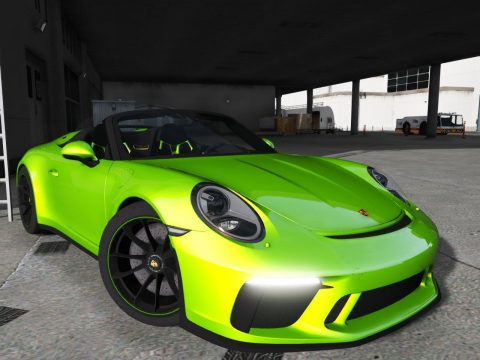 2020 Porsche 911 Speedster [Add-On] 2.0