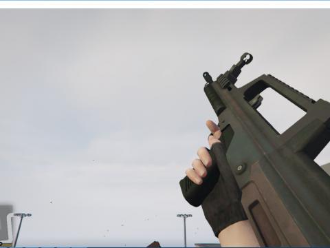 Battlefield 4 QBZ-95 [Animated]