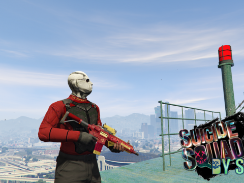 Suicide Squad Deadshot's Weapon Pack 4.0