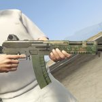 """RE6 """"Assault Rifle RN"""" With Bayonet [Animated]"""