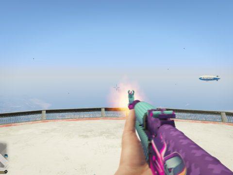Counter-Strike: Global Offensive (CSGO) AK-47 | Neon Rider
