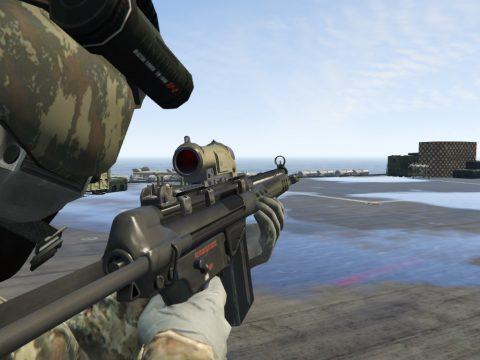 HkG3 Rifle Full Animated