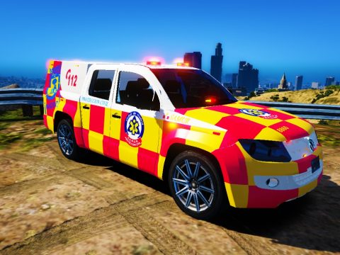 Ambulancia VIR samur madrid 1.0