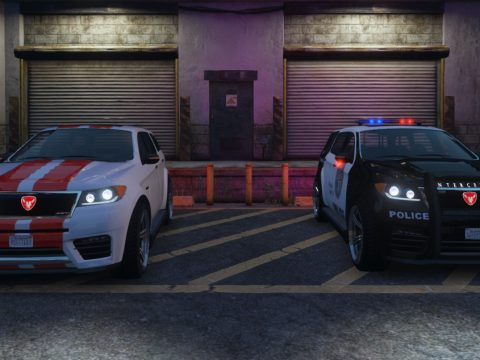 Bravado Gresley SRT Civilian / Police Interceptor [Add-On | Sounds] 1.0