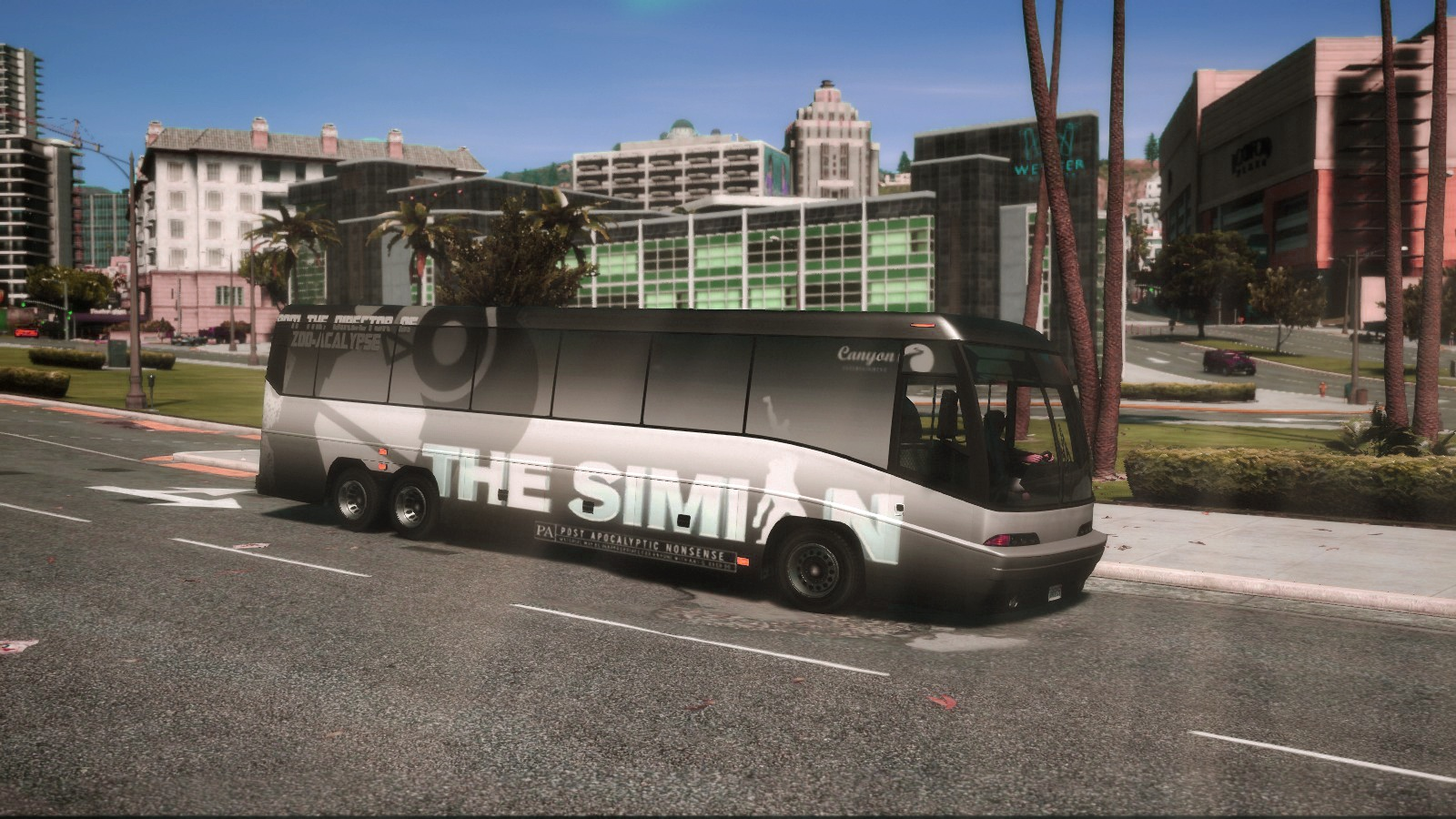 Dashound Bus - Wrapped - The Simian [Add-on] 1