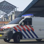 Dutch police Volkswagen Transporter t5 dog section [ELS][Extra's]