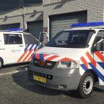 Dutch police Volkswagen Transporter t5 dog section [ELS][Extra's]