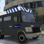 Dutch riot police Mercedes-Benz Vario (BETA, ELS) 0.9