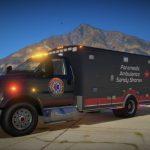 [Non-ELS] Ford F750 Ambulance + Liveries [Replace | Addon | FiveM] v.1.0