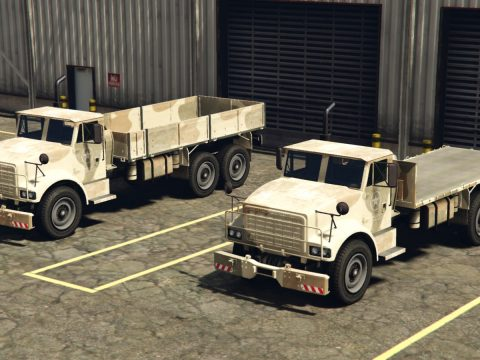 HVY Barracks Flatbed [Add-On] 1.0