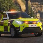 Highways England - Traffic Officer Vehicle - 2018 Landrover Discovery 5 [ELS] v1.0