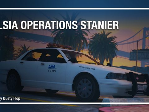 LSIA Operations Stanier [Add-On]