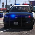 LSPD Vapid Police Cruiser Utility (Scout) [Add-on] [Custom Soundbank] 1.0