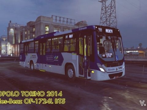 Marcopolo Torino 2014 MB OF-1724L (Replace   Livery) 1.0