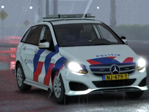 Mercedes Benz B Klasse 2016 Politie [ OOV / BZK / ELS / Reflective ] 1.0