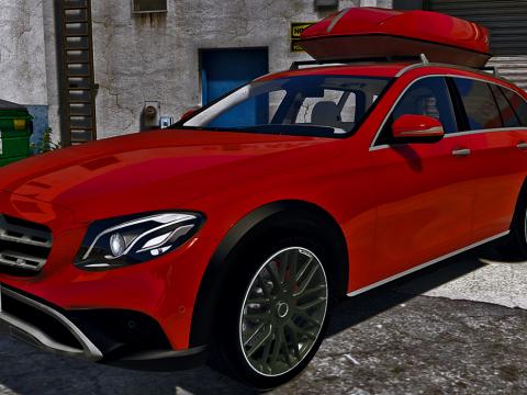 Mercedes-Benz Classe E All-Terrain 350d [Add-On / Trailer] 0.1