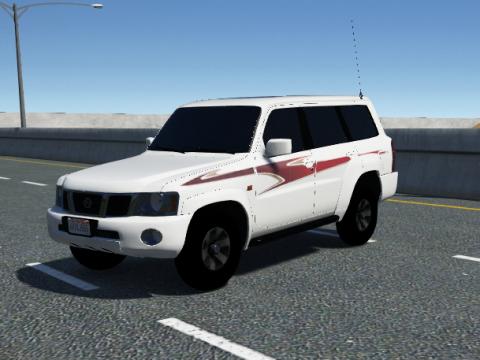 Nissan Patrol Super Safari VTC [ Replace   0.1
