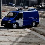 Portuguese PSP Cinotechnical Operational Group - Dog Carriage - Ford Transit [ AddOn / Non-Els ]