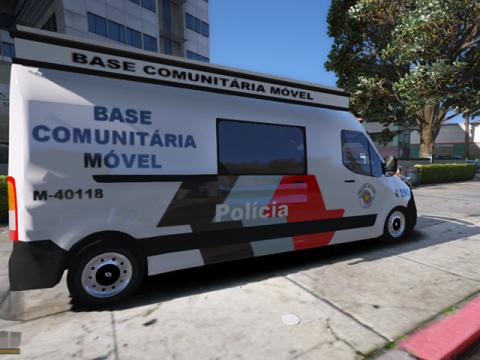 Renault Master Base Movel PMESP ELS