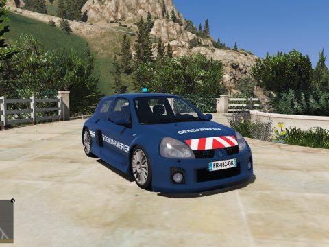 Renault clio V6 French gendarmerie [noELS/ELS] [Template] 1.0