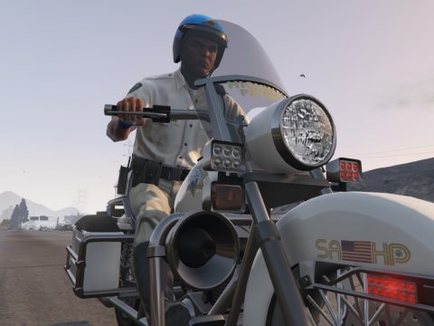 SAHP Motorbike (Vanilla) [Add-On | Replace] 1.0