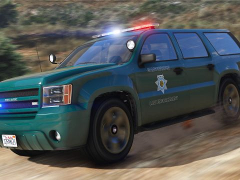 San Andreas Game Warden Pack [Vehicles | EUP | Lore-Friendly | Add-On] 1.1.0