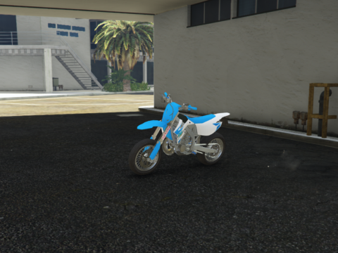 TM 125 Road Legal | With Two Stroke Sound | ADD-ON | Real Handling | Supermoto 1.1