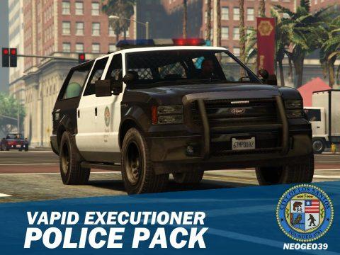 Vapid Executioner Police Pack [Add-On] 3.0