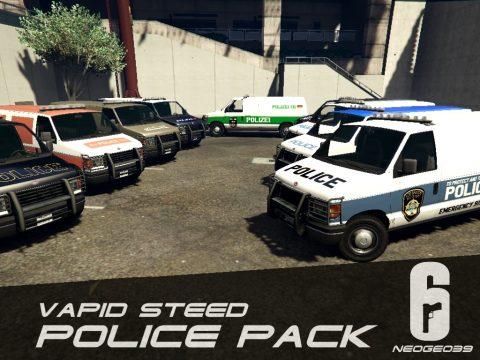 Vapid Steed Police Pack (Rainbow Six Siege) [Add-On] 1.0