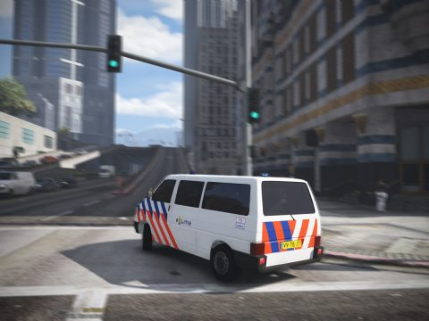 Volkswagen T4 Dutch police [ELS] [Replace] 1.1