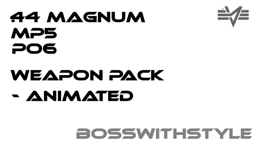 BossWithStyle Weapon Pack [Animated] 1.0078